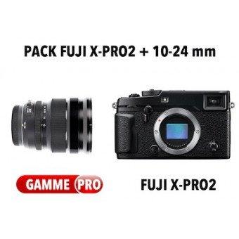 Pack Fujifilm X-Pro2 + 10-24mm f/4 R OIS Pack Fuji
