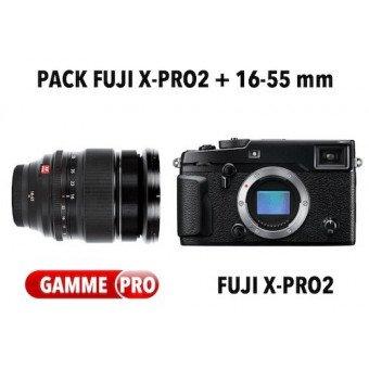 Pack Fujifilm X-Pro2 + 16-55mm f/2.8 R -WR Pack Fuji