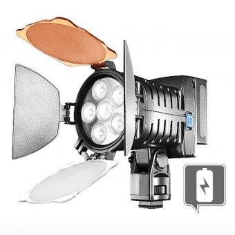 Lampe vidéo LED + accessoires - Walimex Pro - OCCASION Eclairage Caméra