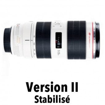 Canon 70-200 mm f/2,8 L IS II USM - Objectif Photo Téléobjectif