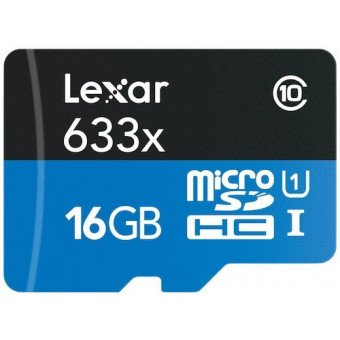 Carte Lexar microSDHC 16 GB Class 10 Carte Micro (SD/SDHC/SDXC)