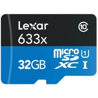 Carte Lexar microSDHC 32 GB Class 10 Carte Micro (SD/SDHC/SDXC)