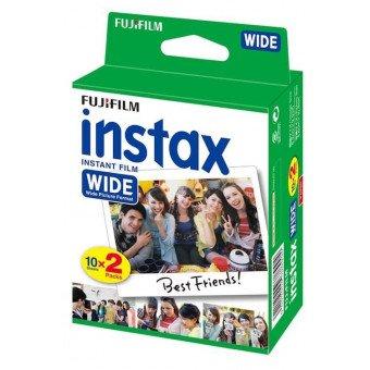 Film Instax Wide - Pack de 20 poses Wide - Fuji Film Instax Wide VENTE