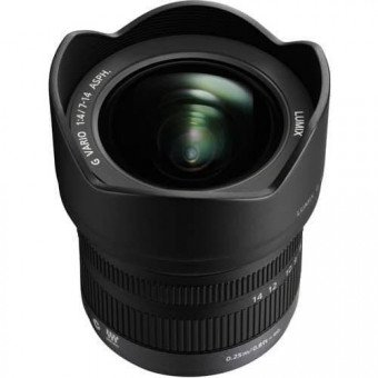 Panasonic 7-14 mm Lumix G Vario H F4.0 M-FT Grand Angle