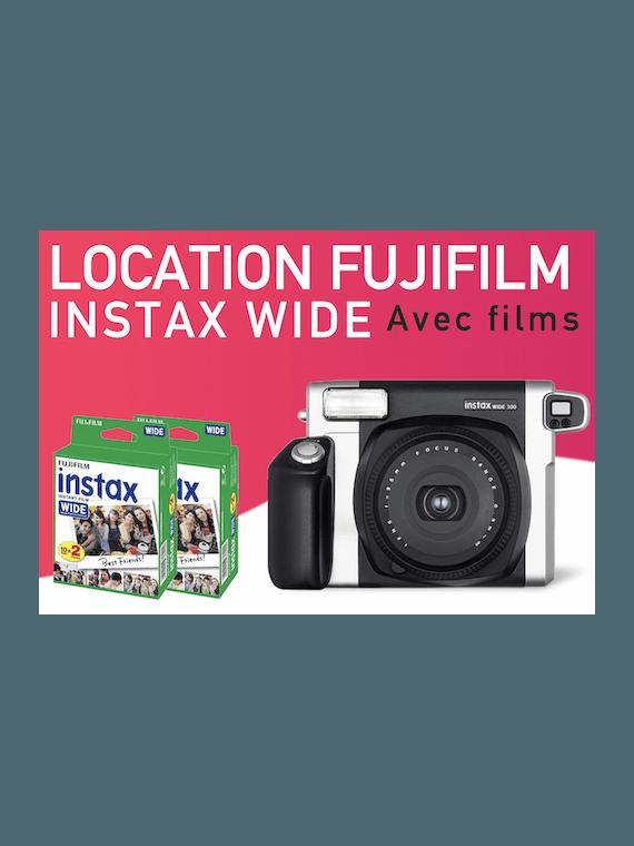 Location Fujifilm Pack Instax Wide Instax Wide