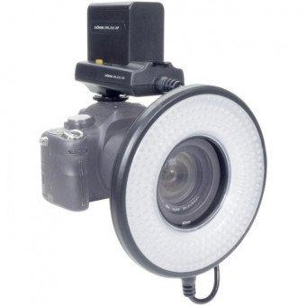 Torche LED annulaire Dörr LED DRL-232 avec batterie Flash Cobra & Accessoire
