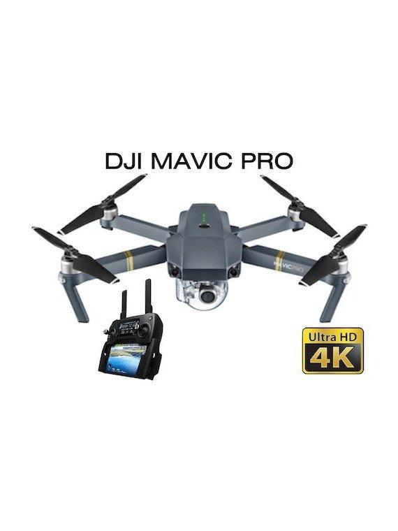 Drone DJI Mavic Pro RTF - Pilotable sans licence Les Drones
