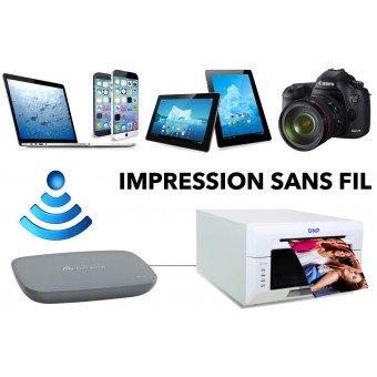 Serveur d'Impression DNP WPS-1 EU sans Fil - Pour DS620, DS40, DS80, DSRX1 Serveur d'impression
