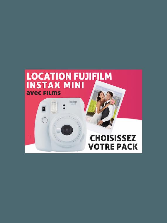 Location Fujifilm Pack Instax Mini Pack Instax Mini 8