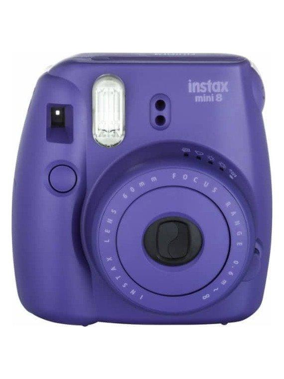 Fujifilm Instax Mini 8 Violet - appareil photo instantanée Pack Instax Mini 8