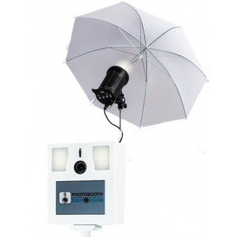 Kit Flash Godox 400W + Parapluie pour La Pix Box Photobooth & PhotoBox