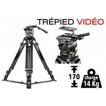 Trépied Vidéo Dolomit 4000 - 170 cm - 14kg Trépied vidéo