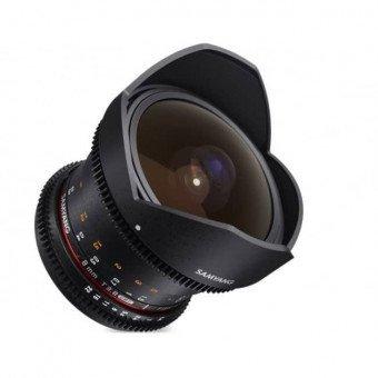 Samyang 8 mm V-DSLR T3.8 CSII MKII - Canon Samyang-Canon