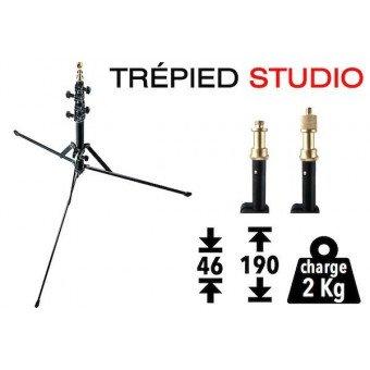 Trépied Manfrotto 5001B - Studio éclairage Pied Studio
