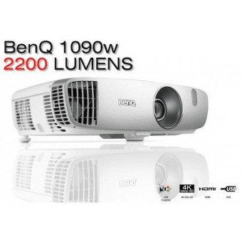 Vidéoprojecteur BenQ W1090 1080p - Spécial Sports & Cinéma - 2000 Lumens Vidéoprojecteur