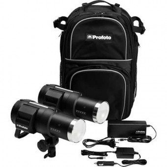 Kit Flash PROFOTO On-Location B1 - 2x500 watts + AirTTL Flash sur Batterie