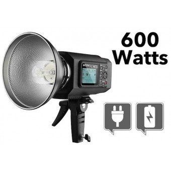 Flash Portable Godox Witstro AD600 TTL 600w sur batteries Flash sur Batterie