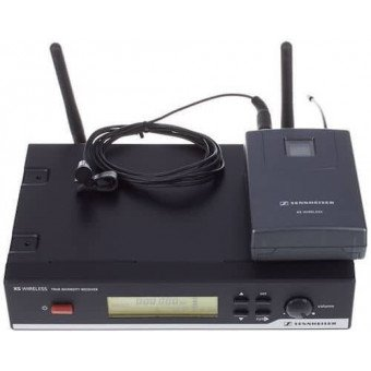 système complet de sonorisations avec micro-cravate sans fil bande B - Sennheiser S-XSW-12 Sono & DJ