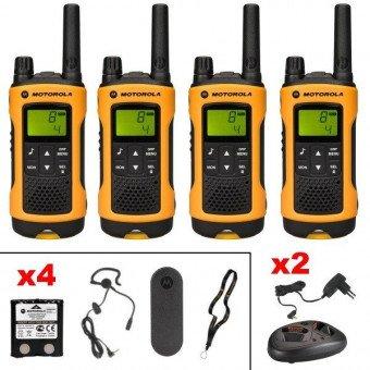 Talkie walkie Motorola TLKR T80 Extrême Quadpack Sono & DJ