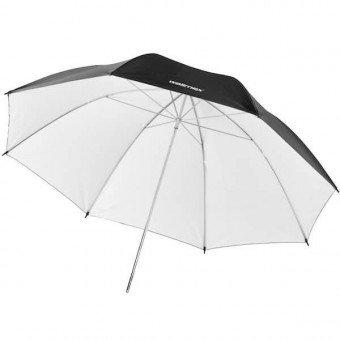 Parapluie noir / blanc 84cm - Walimex Reflex Parapluie