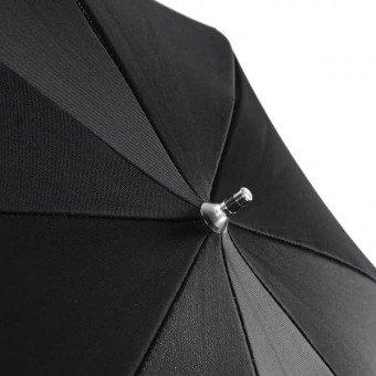 Parapluie noir / argent, 109cm - Walimex Reflex Parapluie