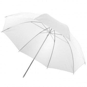 Parapluie Diffusant Lumière blanche, 123cm - Walimex Pro Parapluie