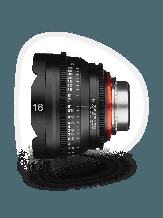 Samyang XEEN 16mm T2.6 - Monture Canon EF objectif Vidéo Samyang-Canon