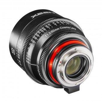 Samyang XEEN 50 mm T1.5 - Monture Canon EF objectif Vidéo Samyang-Canon