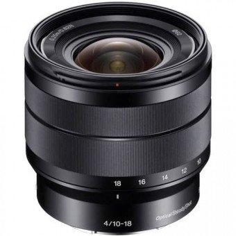 SONY 10-18 mm f/4 OSS - Monture Sony E - objectif photo hybride Monture E