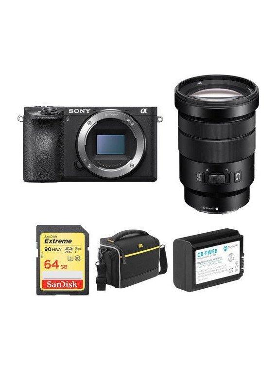 Sony Alpha 6500 + 18-105 mm f/4 G ED Compact Sony