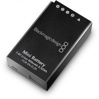Batterie Blackmagic EN-EL20 - pour Pocket Cinéma Batterie Blackmagic