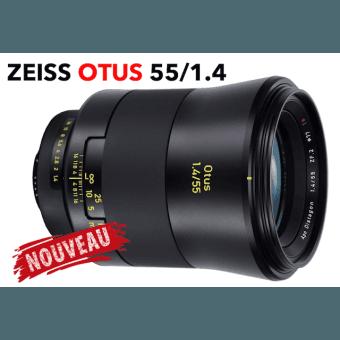 ZEISS Otus 55 mm F.1.4 - Monture Canon EF Objectif Vidéo