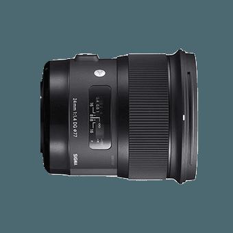 Sigma 24 mm f/1,4 DG HSM Art - Monture Sony (E) Grand Angle