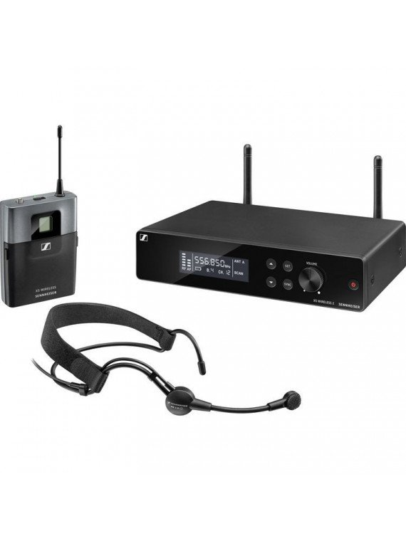 Sennheiser XSW 2-ME3 système sans fil à micro serre-tête Sono & DJ