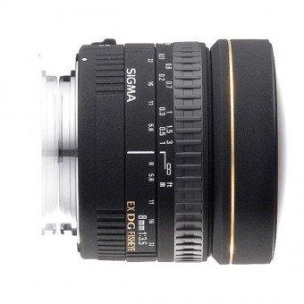 Sigma 8 mm f/3,5 EX DG Fisheye - Monture Canon Fisheye