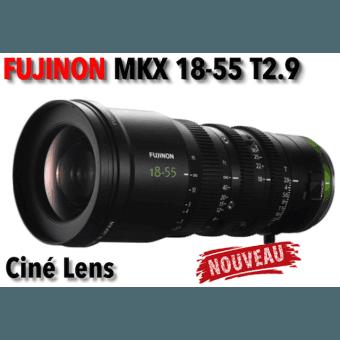 Fujifilm Fujinon MKX 18-55mm T2.9 Objectif (Sony E-Mount) Objectif Vidéo