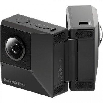 Caméra 360° - Insta360 Evo - Convertible 180/360° Caméra 360°