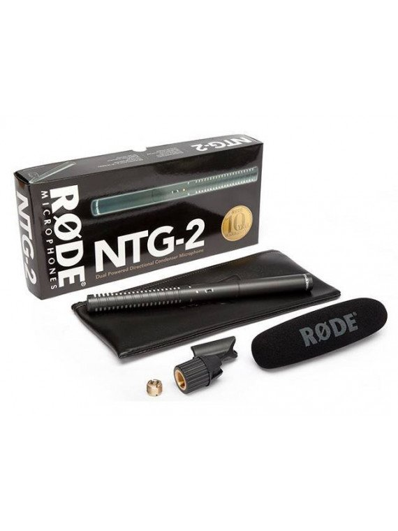 Microphone Canon - RODE NTG-2 Micro Canon