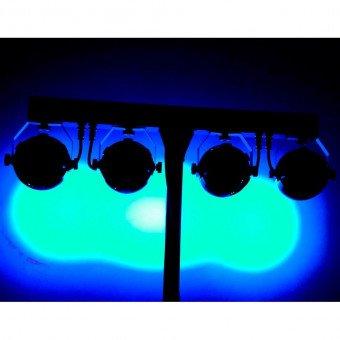 Jeux de lumière 4 Led multicolor - BoomTone DJ Jeux de Lumiere