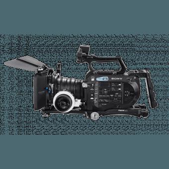 Rig Tilta ES-T15-A pour Sony FS7 + Folow focus et Mattebox 4x4 Cages & Cross épaule