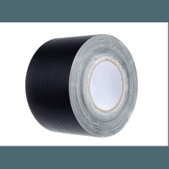 Gaffa toile noir Mat (sans reflet) - 100mm x 50m VENTE