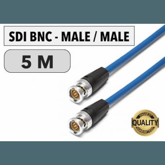 Cordon SDI BNC Male/Male de 5 M Câbles Vidéo