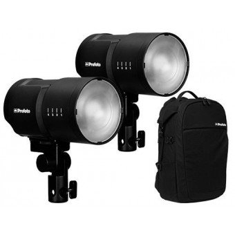 Profoto B10 Kit Duo (2x250Ws) Flash sur Batterie