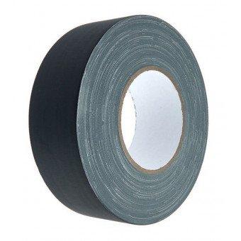 Gaffa toile noir Mat (sans reflet) - 50mm x 50m VENTE