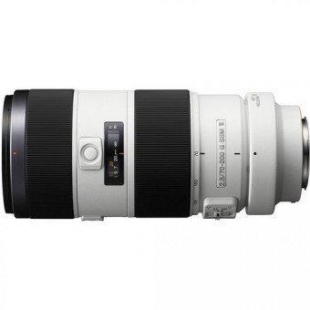Sony 70-200 mm f/2.8 G SSM II Lens - Monture A Téléobjectif