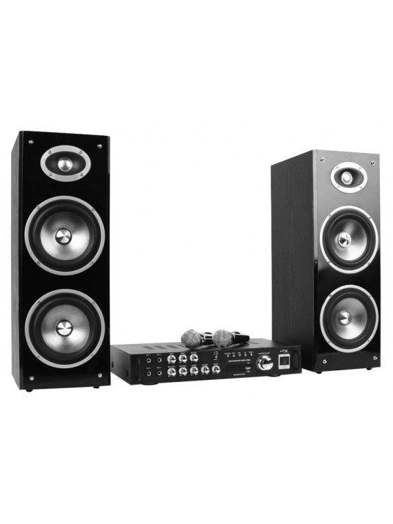 Karaoké Star Bluetooth 3 BT avec 2 Micros - LTC Audio Karaoké