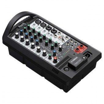 Système de sonorisation amplifié portable de 600 Watts - Enceinte Yamaha STAGEPAS 600BT avec Micro & Mixer Sono & DJ