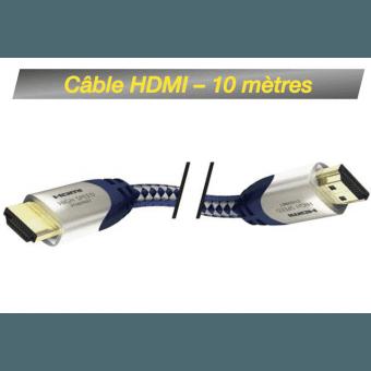 Câble HDMI M/M 10M - High Speed Premium Inakustik avec Ethernet Câbles & Connectiques