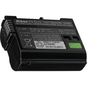 Batterie Nikon EN-EL15 - D810, D610, D500, D7200, D5300 Batterie Nikon