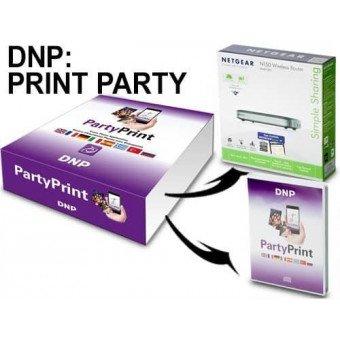 Kit DNP Partyprint - imprimez vos photos depuis un smartphone Serveur d'impression